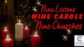 Nine lessons, Nine Carols, Nine Churches