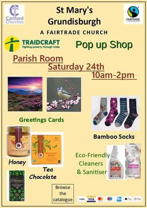 Fairtrade Stall - Saturday 24th April
