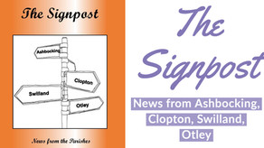 Signpost for August