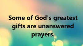 When Our Prayers Go Unanswered