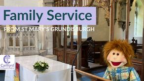 Family Service, Sunday 2nd May