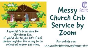 Messy Church Crib Service