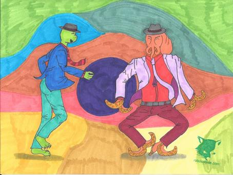 Dancing Series: Turtle & Octopus