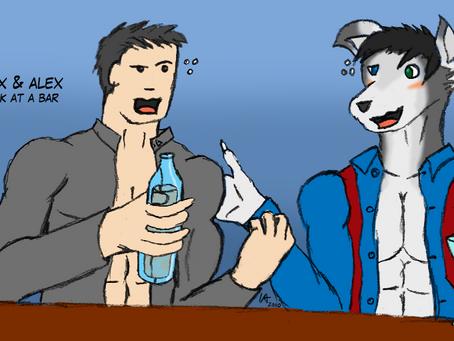 Alex & Alex At The Bar