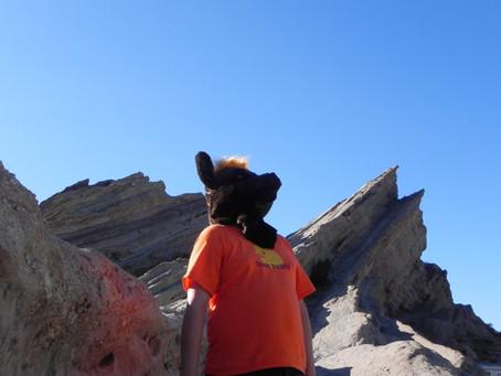 Anubis at Vasquez Rocks