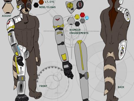 RoboCoonie's Version 1 Ref Sheet
