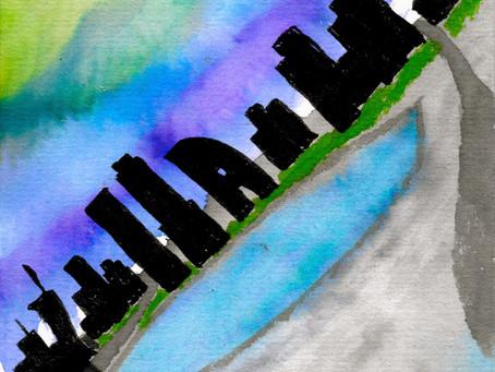 Watercolors: Cityscape