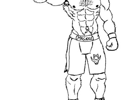 WIP: Magnus the Heavyweight Bull Boxer