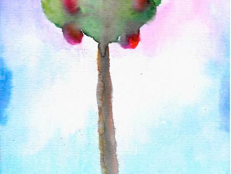 Watercolors: Tree