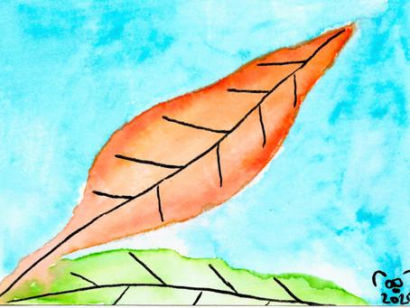 Watercolors: Leaf Series