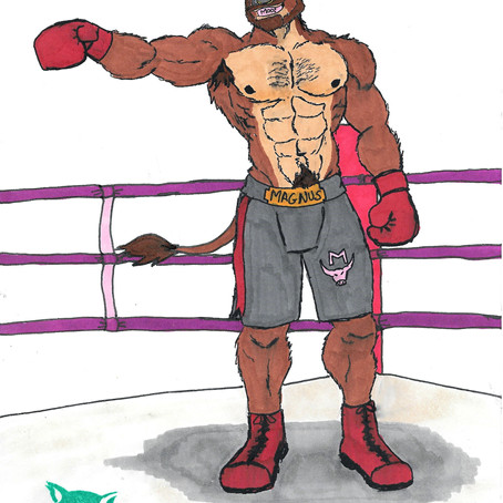 Heavyweight Boxer Magnus