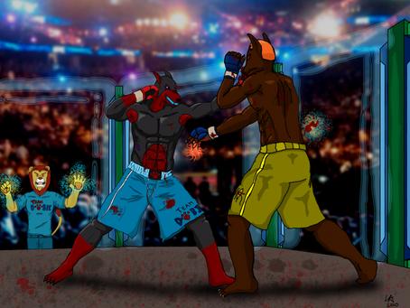 Anubis VS Linkin - MMA Fight