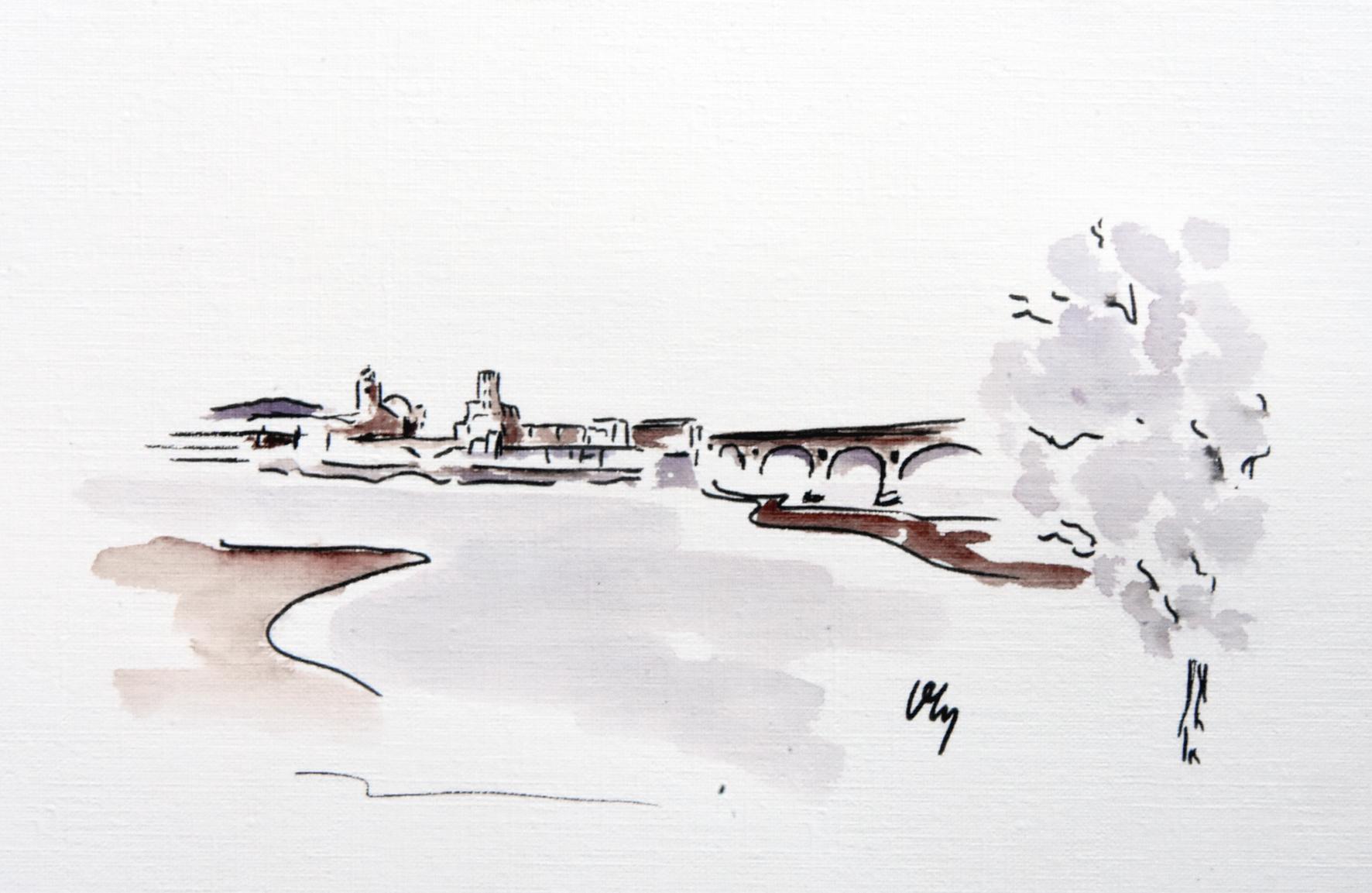 Vue de Pont-Saint-Esprit