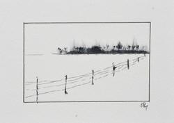 Paysage noir et blanc#3