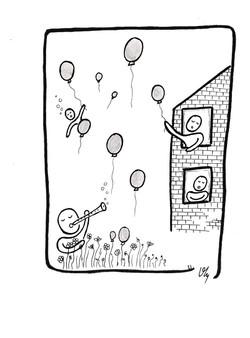 Le charmeur de ballons