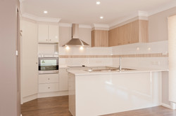 Modern kitchen with SS appliances