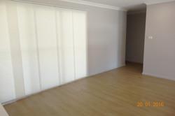 Panel glide blinds for alfresco
