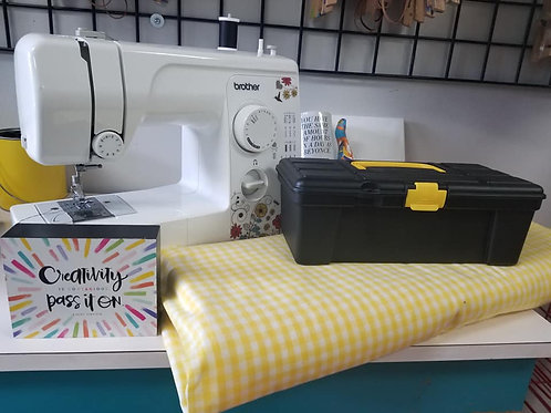 Sewing Kit (machine rental available)...