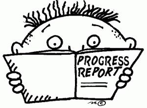 """Les """"Progress Reports"""" sont en ligne!"""