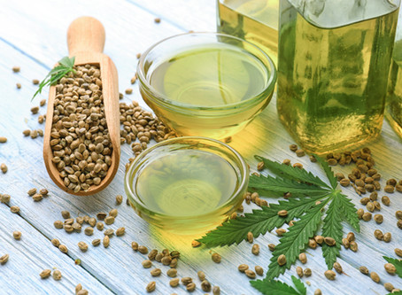 Hemp Seed Oil - Our main ingredient!