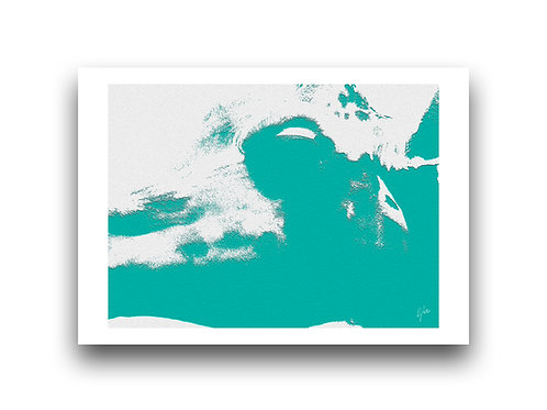 Africa Shadows - Turquoise