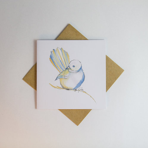 Fantail Illustration Card - Small