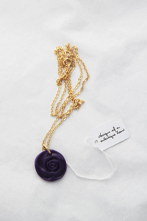Ring-a-round the Rosie Necklace