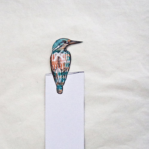 Kingfisher Bookmark