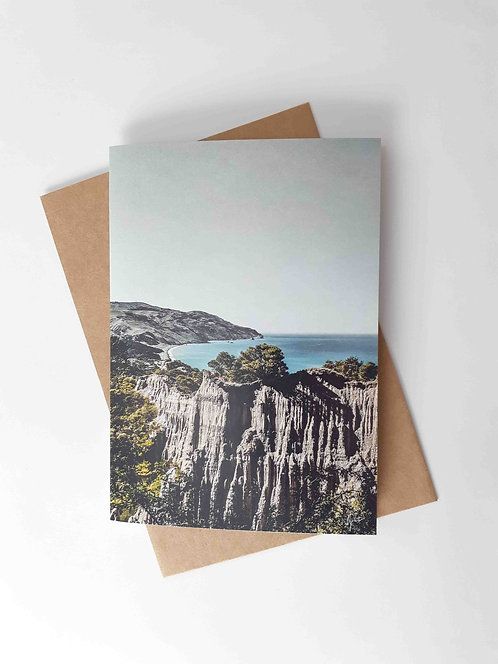 Cathedral Cliffs Greeting Card