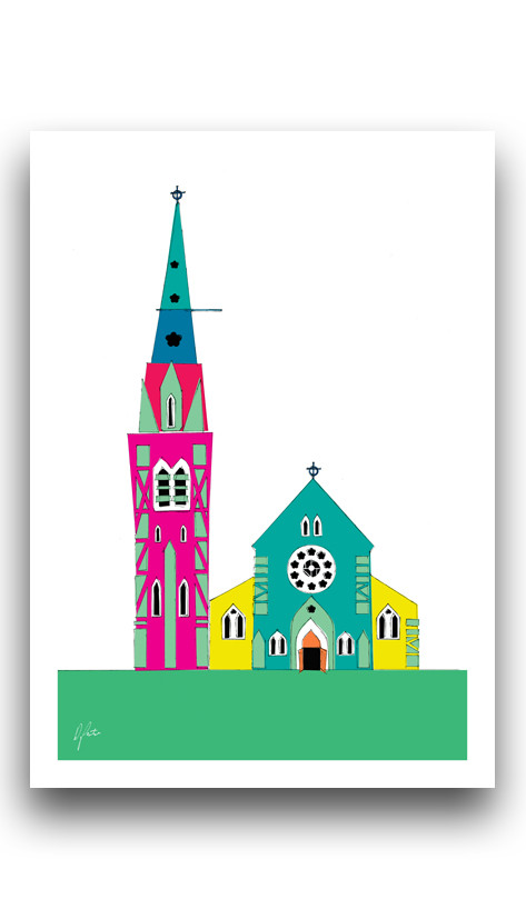 Christchurch Cathedral Illustrated