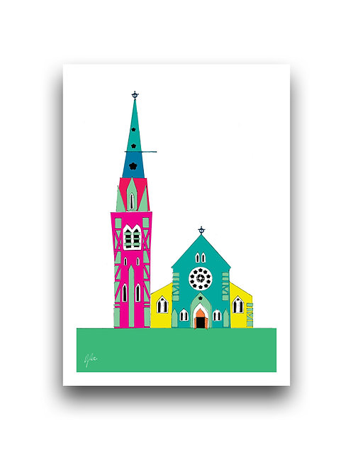 ChristchurchCathedral  - Illustration