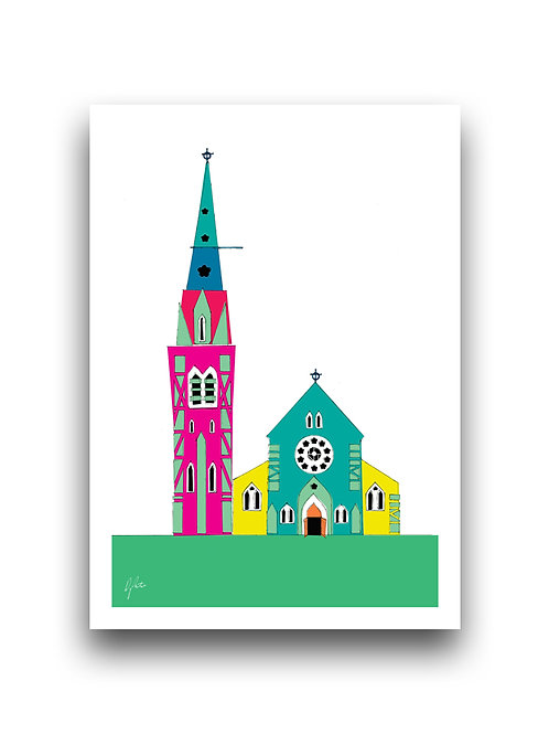 Christchurch Cathedral  - Illustration