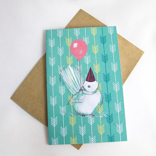 Fantail Birthday/ Special Occasion Card