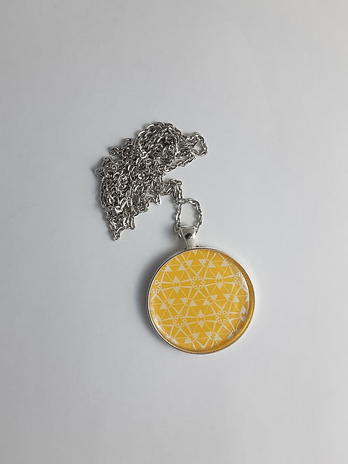 Yellow Geo Necklace