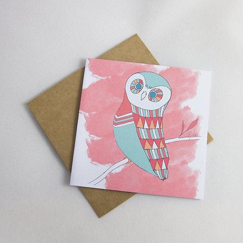 Owl Card - Small