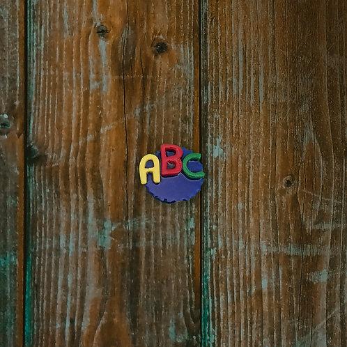 ABC Teacher Brooch