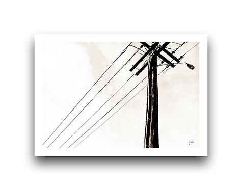 Rustic Power Pole