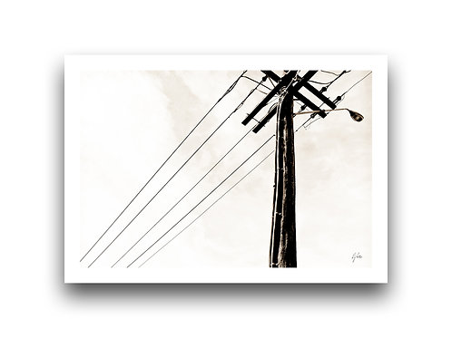 Rustic Power Pole