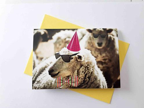 Sheep Party Greeting Card