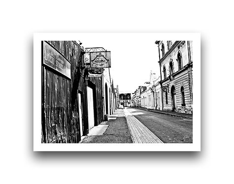 Livery Stable - Harbour Street, Oamaru - B n' W