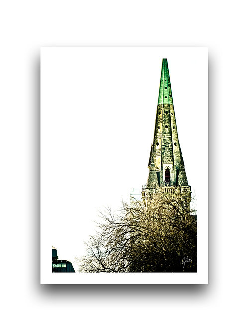 Cathedral Spire - Christchurch