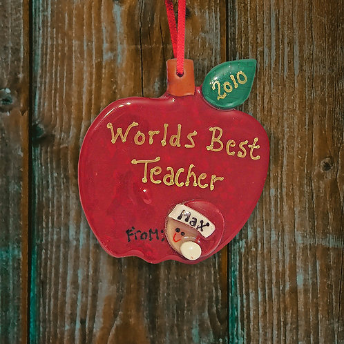 Teacher Apple Decoration