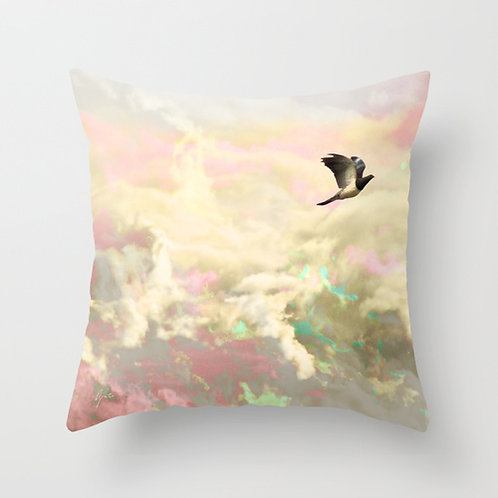 Lost in the Skies Cushion Cover