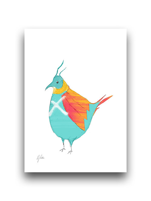 Graffiti Bird 1 - Illustration