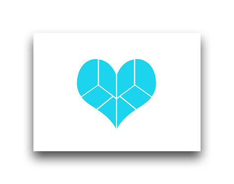 Pieces of my Heart - Turquoise