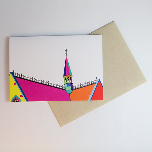 The Spire Colourway Greeting Card