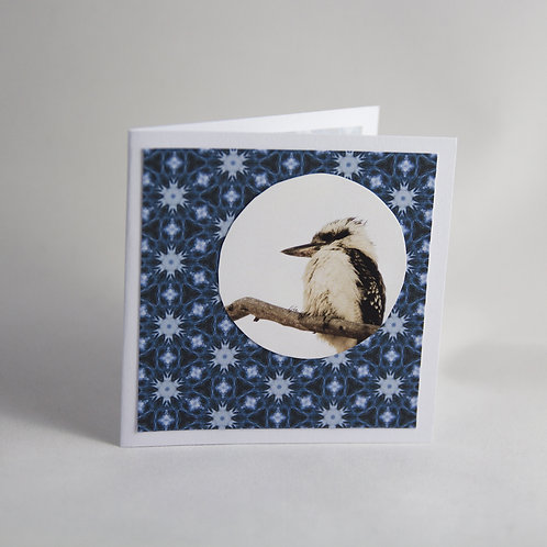 Handmade Craft Kookaburra Card