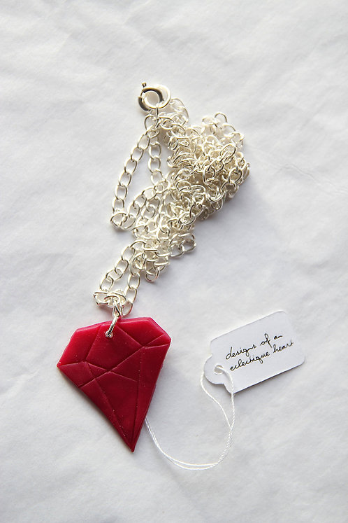 Ruby Diamond Necklace #1