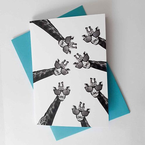"""Giraffe """"Lookin' at 'Chu"""" Card"""