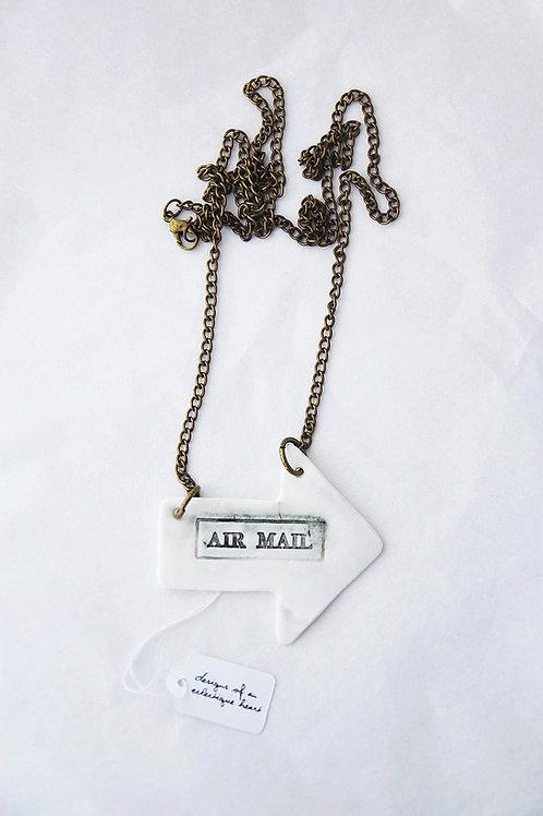 Airmail Arrow Necklace